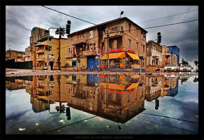 The Shape Of City Winter by gilad