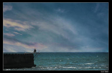 The clouds painter by gilad
