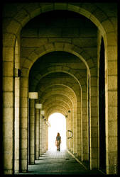 Stepping into the light by gilad
