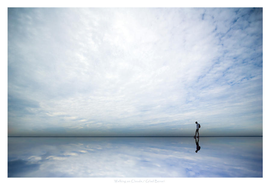 Walking on Clouds by gilad