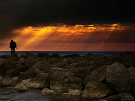 Walking The Barriers by gilad
