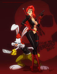 Molotov and Brock Rabbit by ArtistAbe