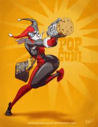 Pop Gun! by ArtistAbe