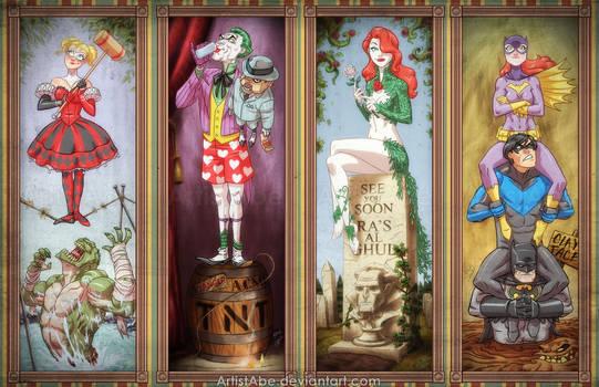 Haunted Arkham Asylum by ArtistAbe