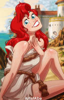 Ariel: Speechless by ArtistAbe