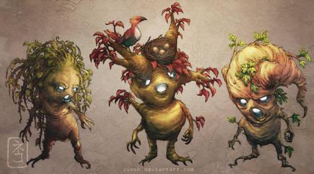 Rootlings by yvash