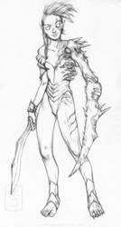 Elf Corrupter by yvash