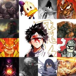 Favorite Characters 2. by kekeevrex008