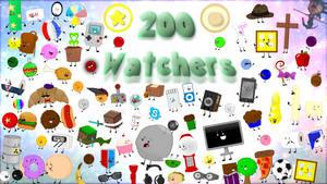 200 Watchers Collage! by AwesomecatmanDA