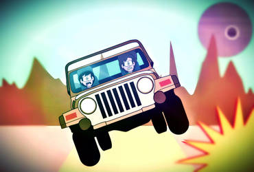It's Gonna Be a Bumpy Ride by SilentDeathAvenger