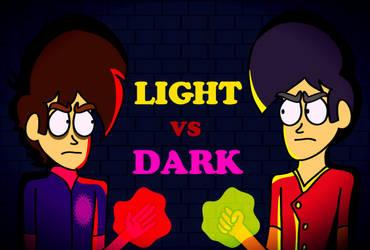 Light VS Dark by SilentDeathAvenger