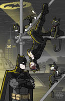 Bats and Cats by lukemckay