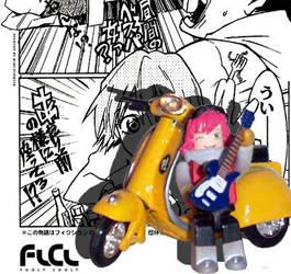 Haruhala Haruko Kubrick by MC-ScottyD