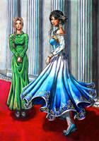 Princess Gee'nera and Inra-lon-Weris by Kasuriri
