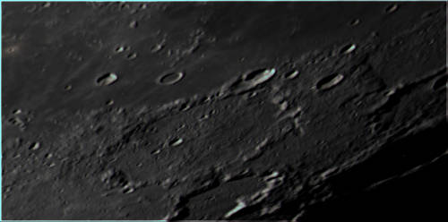 Moon craters closeup lots of details (2019-02-17) by archonom