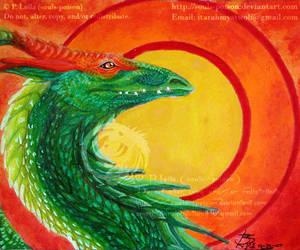 Dragon - vtforpedro commission by soulspoison