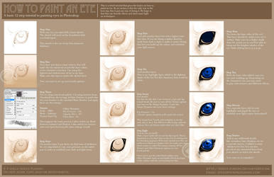 Tutorial - How to paint an eye by soulspoison