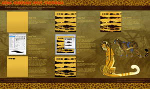 King Cheetah Spot Tutorial by soulspoison