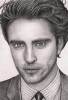'Robert Pattinson' graphite portrait by Pen-Tacular-Artist