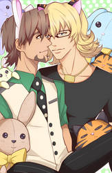 Tiger and Bunny: Pastel by ototobo