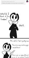 ask-the-dancing-demon Answer: How are the fans? by The-Purple-Gremlin