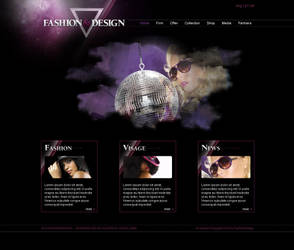 fashion website - old work by colorlabelstudio