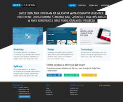 Concept of agency website by colorlabelstudio