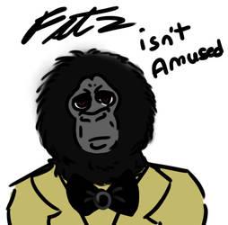 Fatz isn't amused by rockafiremonkees