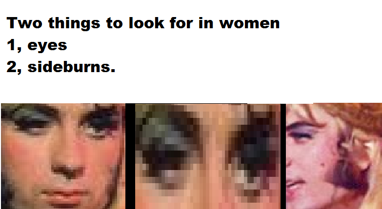 Two things to look for in women by rockafiremonkees