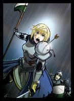 Jeanne D'Arc by DnaTemjin