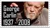 RIP George Carlin Stamp by quazo