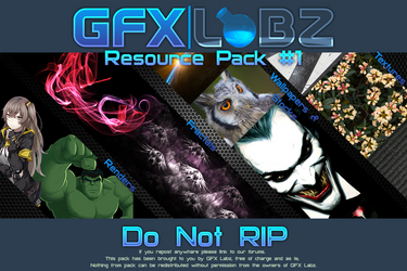 GFxLabz Resource Pack #1 by haloreach2