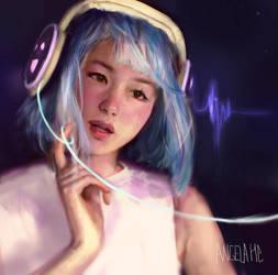 Happy Headphones by zephy0