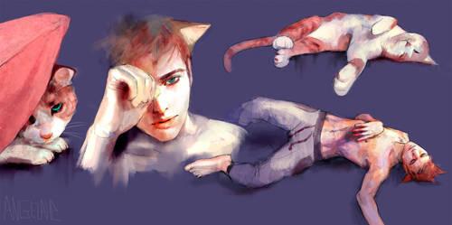 Cat Boy by zephy0