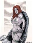 Red Sonja Commission 01 by John-Stinsman