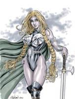 Marvel Comic's Valkyrie by John-Stinsman