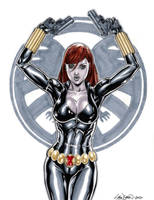 Black Widow Commission 02 by John-Stinsman