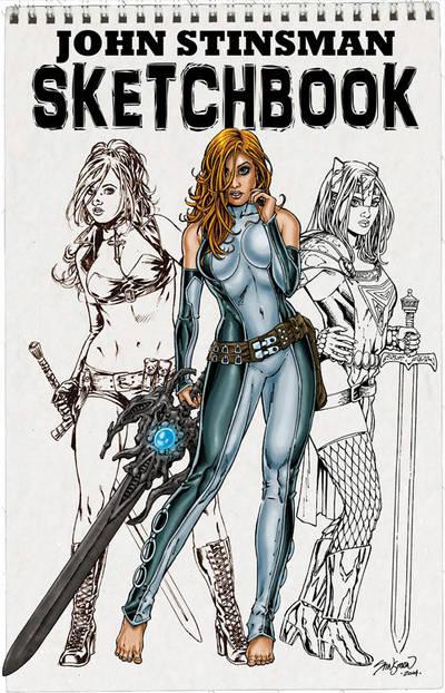 My Sketchbook Cover by John-Stinsman