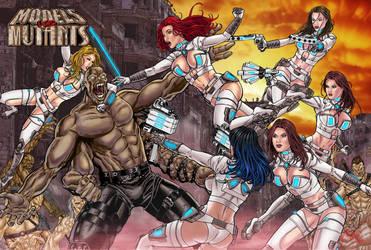 Models vs Mutants by John-Stinsman