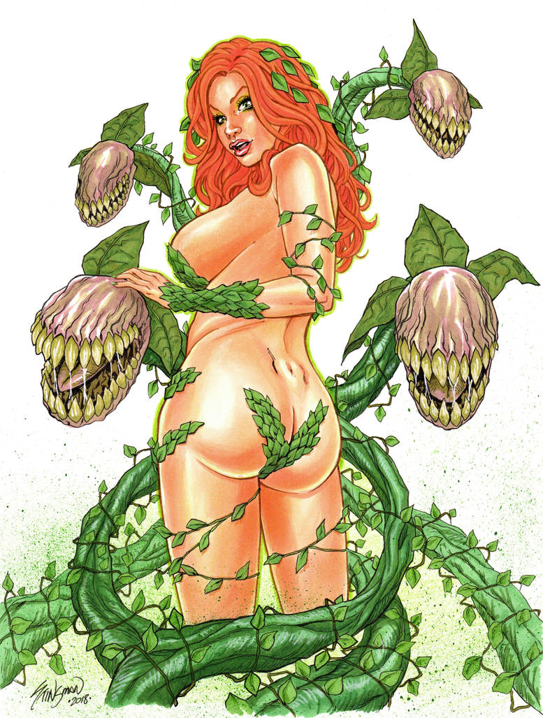 Poison Ivy done in Copics by John-Stinsman