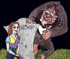 Beauty and the Beast Halloween by Lady-Dulcinea