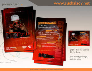 DJ Mo Beatz Promo Flyer by thatladyj
