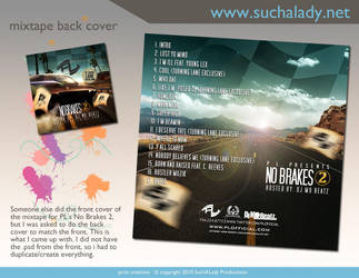 No Brakes 2 Back Cover for PL by thatladyj