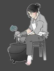 peeling mandrakes by talareq