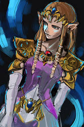 princess zelda by E-Lien