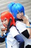 Kampfer - Blue Team by ichiko-san