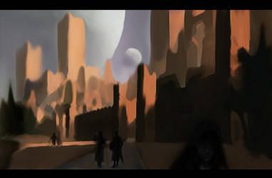 City of Shadows and Shades by PakPolaris