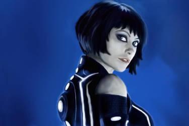 Quorra - Tron Legacy - Olivia Wilde by PakPolaris