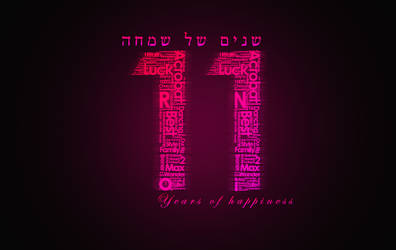 Typography - Happy Birthday Gift by iBrushART