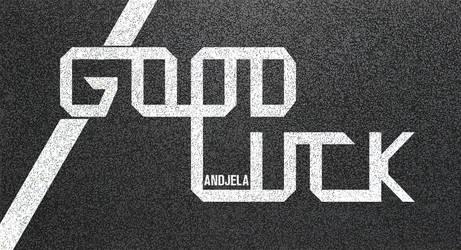 Good Luck Andjela! by iBrushART